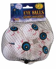 Lightweight Ping Pong Ball Type Fake Eye Ball Set (7) Individual Pieces in a Bag