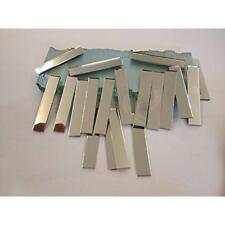 RUIXUAN 3/8x2inch Small Glass Rectangle Craft Mirrors Bulk 120 Pieces Mosaic