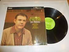 JIM REEVES - According To My Heart - 1969 UK lime green label 10-track LP