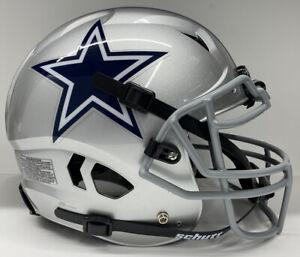 Dallas Cowboys Custom Full Size Authentic Schutt Vengeance Football Helmet !