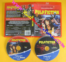 BLU-RAY PULP FICTION Quentin Tarantino John Travolta Uma Thurman no vhs dvd (D7)