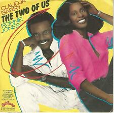 "CLAUDIA BARRY RONNIE JONES "" THE TWO OF US / UNITED WE STAND ""  7"" ITALY PRESS"