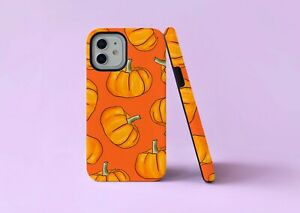 Pumpkins Autumn Art Halloween 2 in 1 Hybrid Tough Phone Case/Cover For iPhone