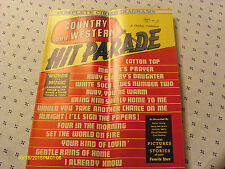 July 1972 Country Western Hit Parade Magazine Buck Owens Anne Murray