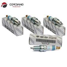4 CANDELE ORIGINALI FIAT PANDA 500 1.2 GRANDE PUNTO1.4  55188857 NGK DCPR7E-N-10