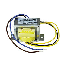 Safety Isolating Transformers (Outputs (V ac) 12-0-12 Type 2A Secondary)