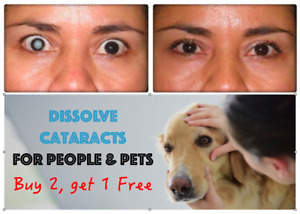 Cataracts Eye Drops for Pets - 4% NAC Treatment for Dogs, Cats, Pets  People