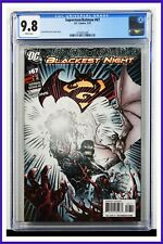 Superman Batman #67 CGC Graded 9.8 DC February 2010 White Pages Comic Book