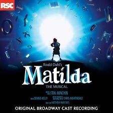 Matilda the Musical (Original Broadway Cast Recording) CD New Soundtrack
