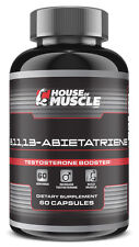 House Of Muscle 8,11,13-Abietatriene -- Testosterone Booster -- 60 capsules