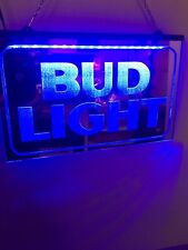 Bud Light Mirror Led Neon Light Sign Game Room , Bar , garage Sign
