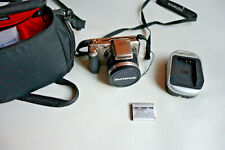Clean Olympus SP-800UZ 14.0MP Digital Camera  30x Optical Zoom Wide with exras