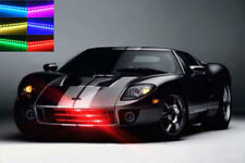 7 Colors Waterproof Knight Rider Strip 48 LED Light Kit Remote Bright Car