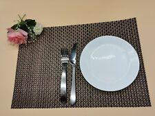 6 x Placemats Table mat  PVC Package-Heat Resistant & Washable