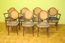 7 Stühle  Thonet Bauhaus Art Deko Bugholz Armlehnenl Buche #2080