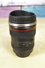 Camera Lens Caniam Novelty Black 13.5 oz Coffee Tea Travel Mug Tumbler Insulated
