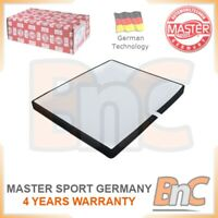 # GENUINE MASTER-SPORT HEAVY DUTY INTERIOR AIR FILTER FOR SKODA VW AUDI SEAT