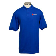 Pepsi Royal Blue Value Polo (Jerzees)  Mens Size XL - 50/50 Cotton/Poly  *NEW