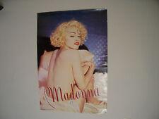 Vintage Madonna Nude Back Promo Poster RARE 27 X 39 Sire Records 1989