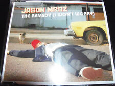 Jason Mraz The Remedy Australian CD 4 Track Single Including Live Tracks