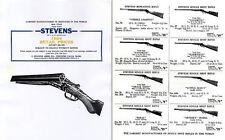 Stevens 1924 Arms Company Short Catalog