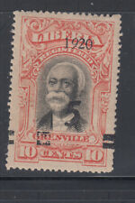 "Liberia # 179 MINT Italic ""9""  President Gibson Only 2 Per Sheet!"