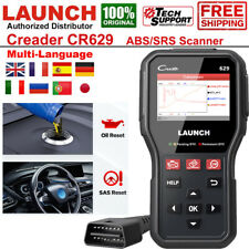 LAUNCH CR629 Automotive SBS SRS Scanner OBD2 Car Code Reader Oil SAS Reset Tool