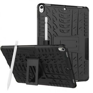 Schutz Hülle für Apple iPad Robust Tablet Tasche Case Cover Slim Outdoor Schwarz