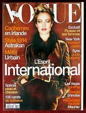 Vogue Paris ~ #771 October 1996 ~ Carolyn Murphy Stella Tennant Picasso