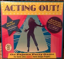 ACTING OUT THE PAJAMA PARTY GAME NEW FACTORY SEALED See Description