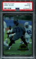 1994 Playoff Football #300 Larry Allen PSA 10 HOF RC rookie