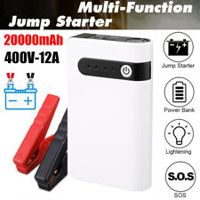 20000mAh 400A Portable Car Jump Starter Auto Battery Booster Power Pack w/ Clamp