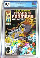Transformers The Movie #3 Marvel Comics 1987 CGC 9.4