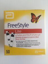 Freestyle Lite Blood Glucose Test Strips 50
