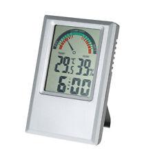 Digital Thermometer Hygrometer Temp Humidity Test Alarm Clock Max Min Value M3B9