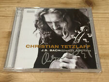 Signed by CHRISTIAN TETZLAFF Bach Sonatas & Partitas for Solo Violin ONDINE 2 CD