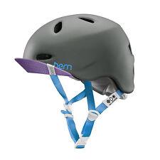 Bern Matte Grey 2015 Berkeley Zipmold-flip Visor Womens MTB Helmet Xs/s