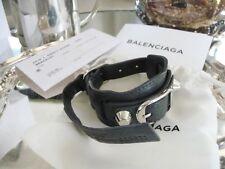 NWT Balenciaga wrap Bracelet in dark grey