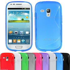 For Galaxy S3 Mini i8190 Shockproof Soft Silicone Thin TPU Protective Gel Cover