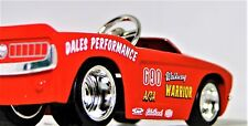 Pedal Car Ford Mustang GT 1968 A Hot Rod Vintage T Metal Body Midget Model 40
