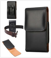 Leather Case Cover Vertical Belt Clip Pouch Holster Bag For Cell Phones