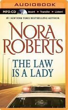 Nora Roberts THE LAW IS A LADY Unabridged MP3-CD *NEW* FAST 1st Class Ship!