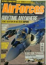 Air Forces Monthly Aug 2015 Anytime Anywhere Big Deck Amphibs FREE SHIPPING sb