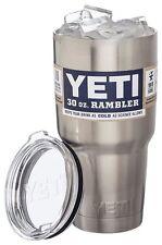 Yeti Rambler Stainless Steel Coffee Mug Cup Insulated 30oz Tumbler New