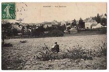 CPA 95 - DOMONT (Val d'Oise) - Vue générale (petite animation)