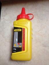 Stanley Schlagschnurkreide Farbe rot 115 gramm 1-47-404