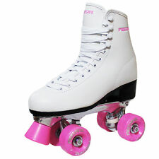 New Freesport Classic Quad roller skates kids Boot Pink Size 5 eu 38