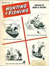 Hunting and Fishing--Feb. 1953-----392