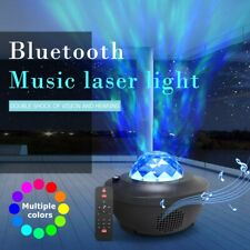 LED Music starry sky projection lamp,Bluetooth USB Remote Control Music Player