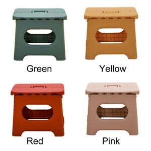 PP Durable Travel Portable Folding Step Stool Multifunction For Adults Children